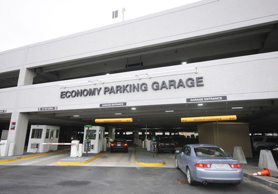 Logan International Airport Parking Structure - Economy Lot