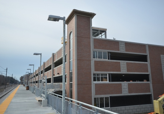Wickford Junction Parking Garage