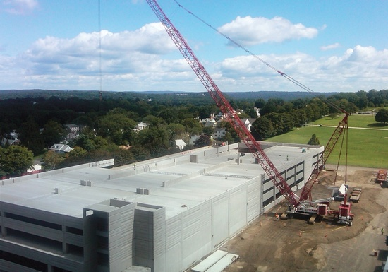Danbury Hospital Parking Garage (Vertical Addition)