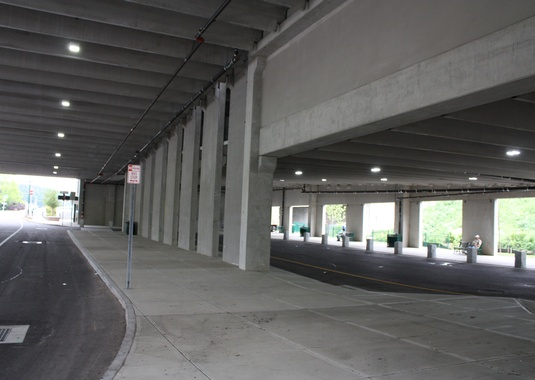 Norwich Intermodal Transportation Center Parking Structure